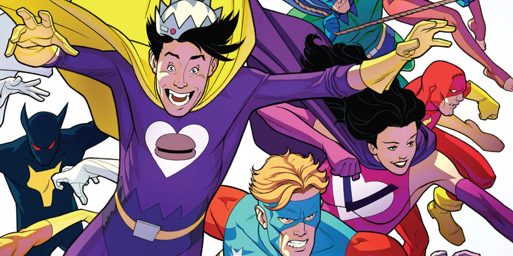 Archie's SUPERTEENS VS CRUSADERS #2 – Final Cutoff Orders July 2